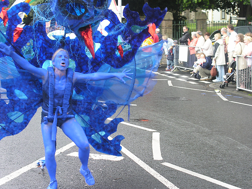 Blue Devil at Swansea MAS Carnival 2005